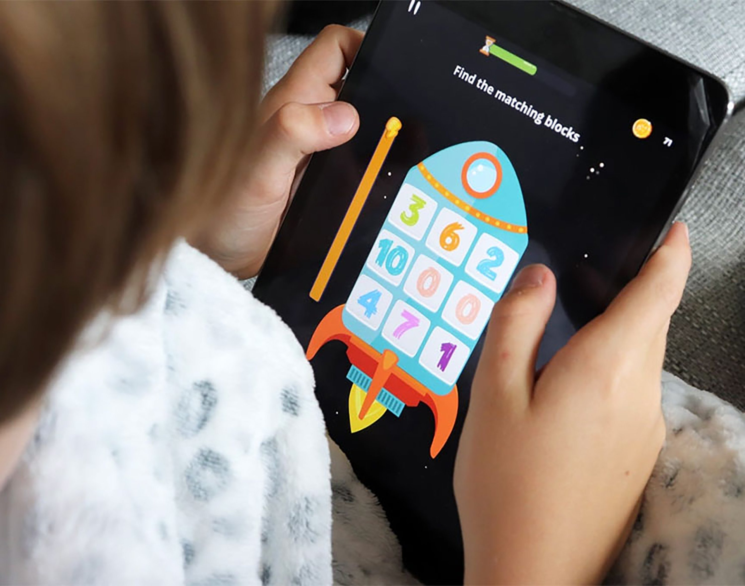 New gamified education platforms are offering educational intelligence games for children. (DHA Photo)