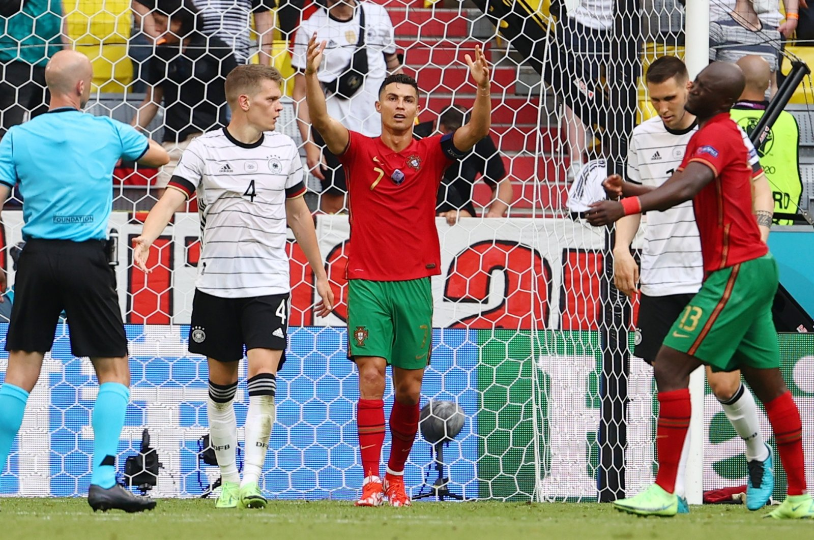 Portugal's own-goal galore gives Germany hope in Euro 2020