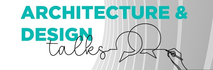 """A poster of the """"Architecture and Design Talks."""" (Courtesy of YEE)"""