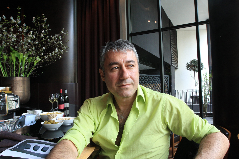 Architect Gökhan Avcıoğlu was the first guest of the talk. (Archive Photo)
