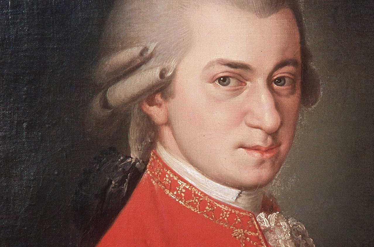 A portrait of the renowned composer Wolfgang Amadeus Mozart. (DPA Photo)