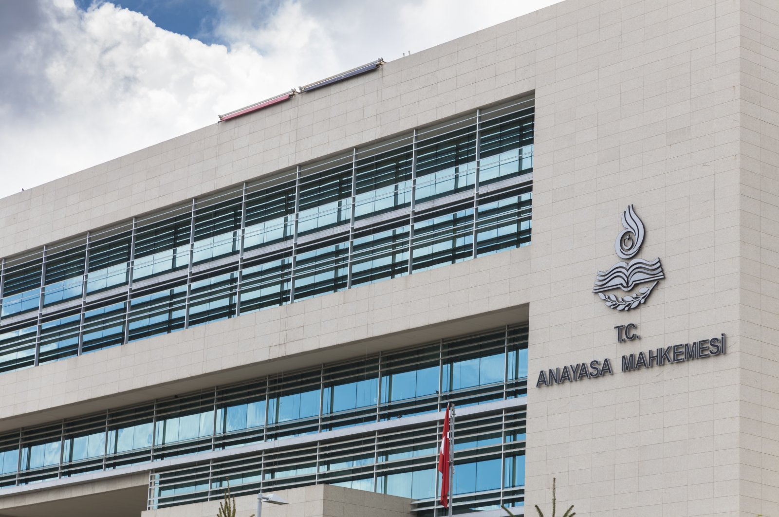 The Constitutional Court of Turkey, the highest legal body for constitutional review in Turkey, in Ankara. (Shutterstock File Photo)