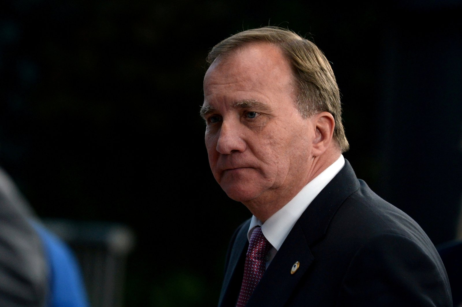 Swedish Prime Minister Stefan Lofven leaves a meeting at the EU summit, in Brussels, Belgium, July 21, 2020. (Reuters Photo)