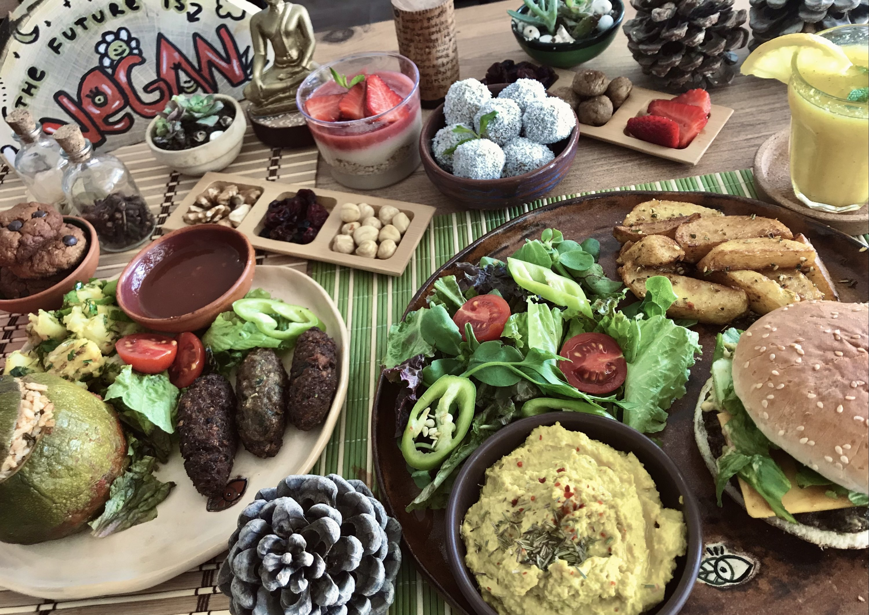 Dalia Vegan Mutfak is a recently opened vegan cafe located in close proximity to the Turgutreis Marina, Bodrum, Turkey. (Didem Önder for Daily Sabah)