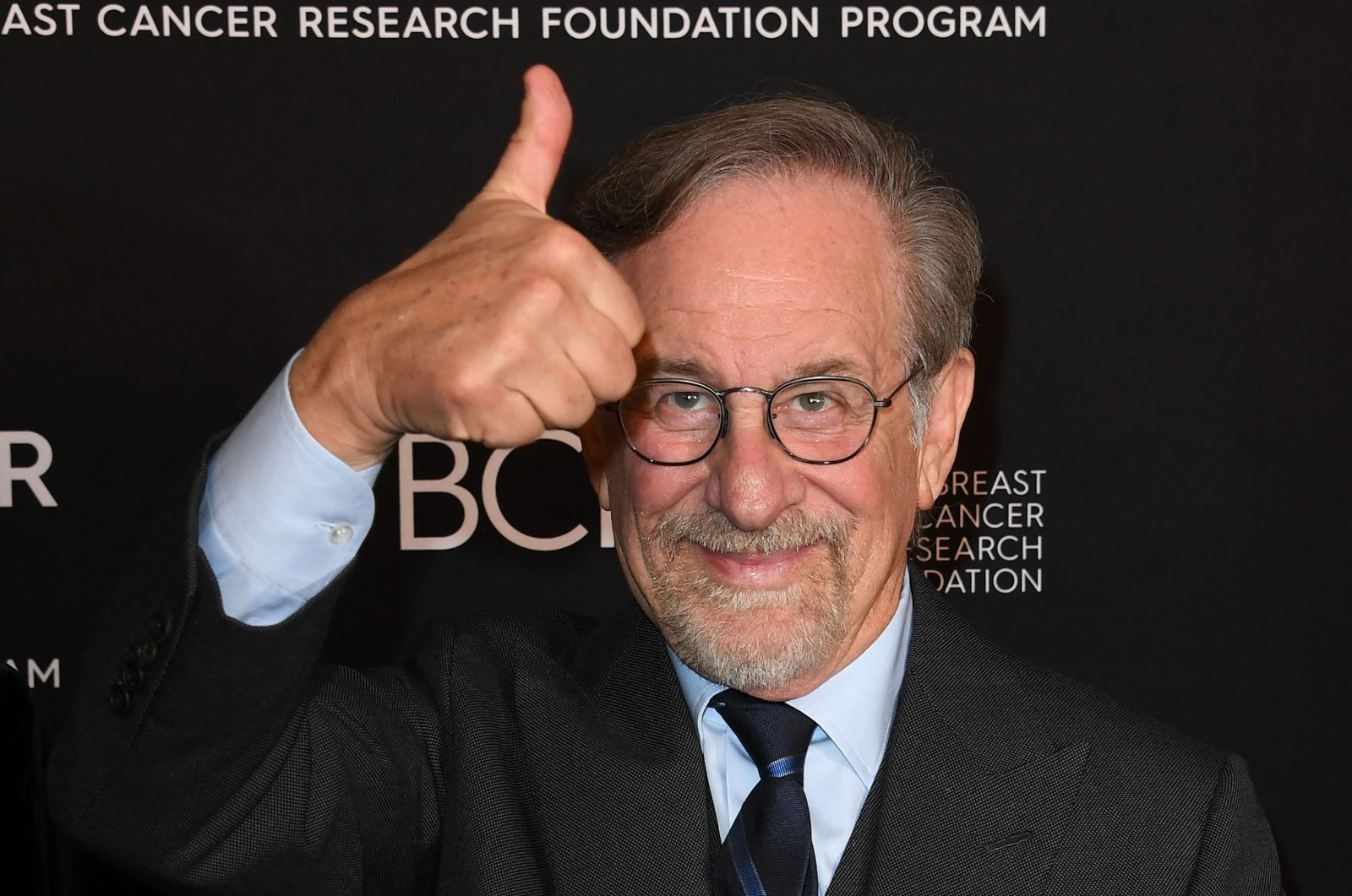 """Director Steven Spielberg arrives for """"An Unforgettable Evening"""" benefiting The Women's Cancer Research Foundation at the Beverly Wilshire hotel in Beverly Hills, California, U.S., Feb. 28, 2019. (AFP Photo)"""