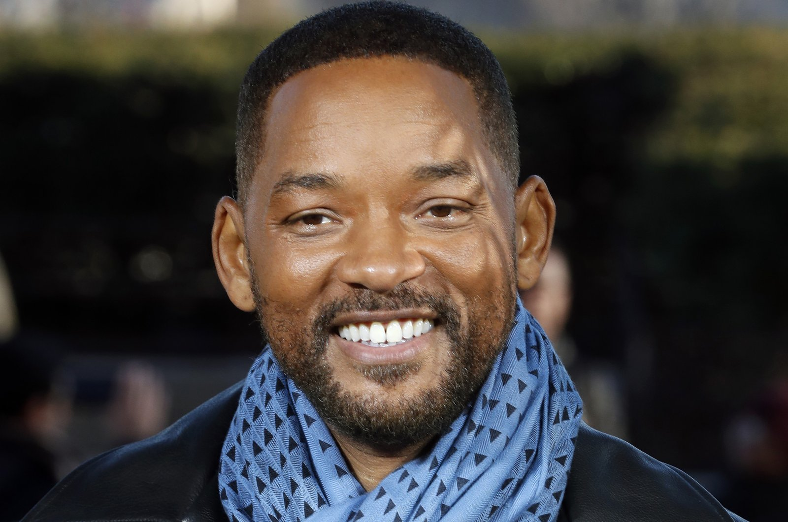"""U.S actor Will Smith poses for photographers during the photo call of """"Bad Boys for Life,"""" in Paris, France, Jan. 6, 2020. (AP Photo)"""