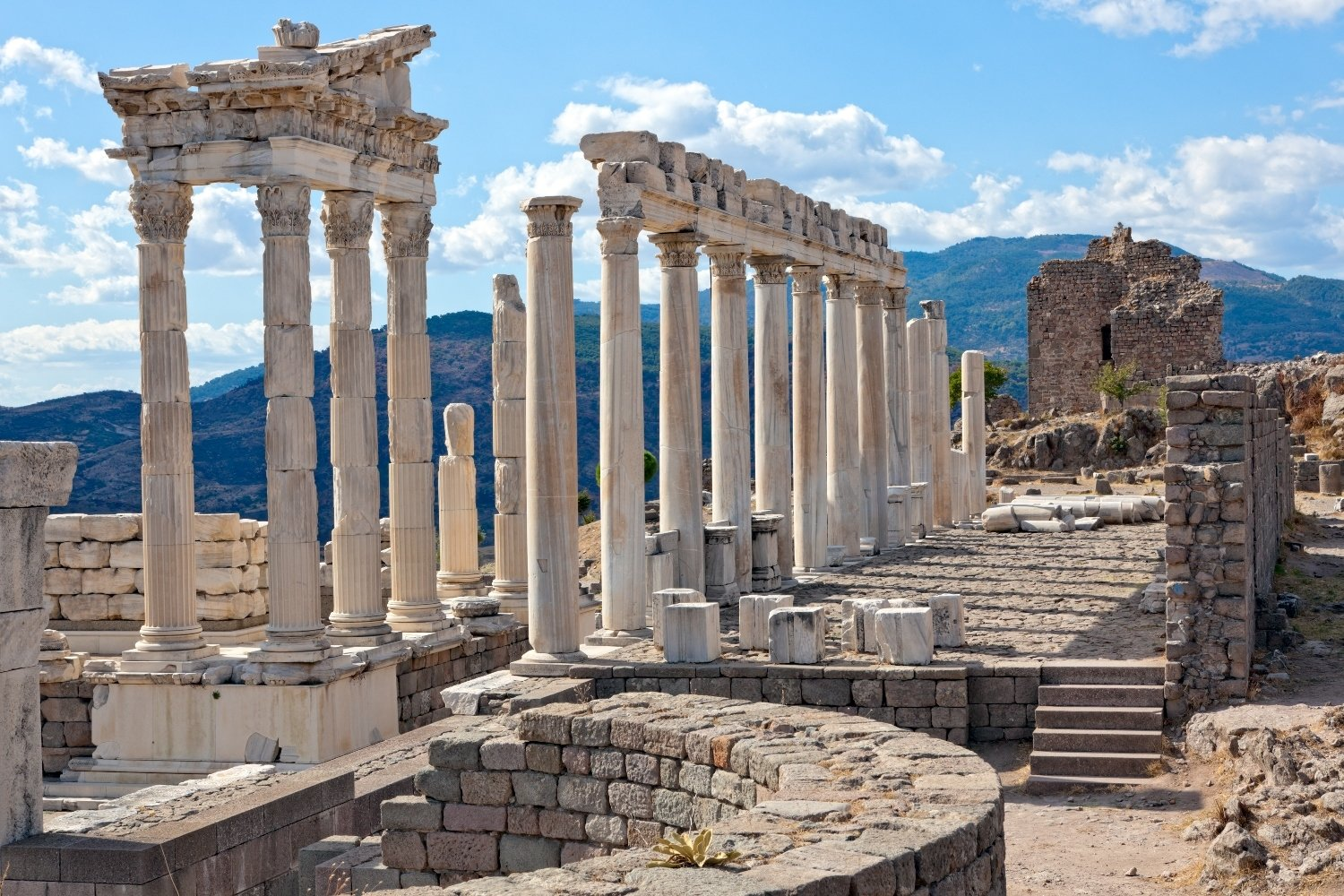 The ancient city of Pergamon was the administrative center of the Kingdom of Pergamon.
