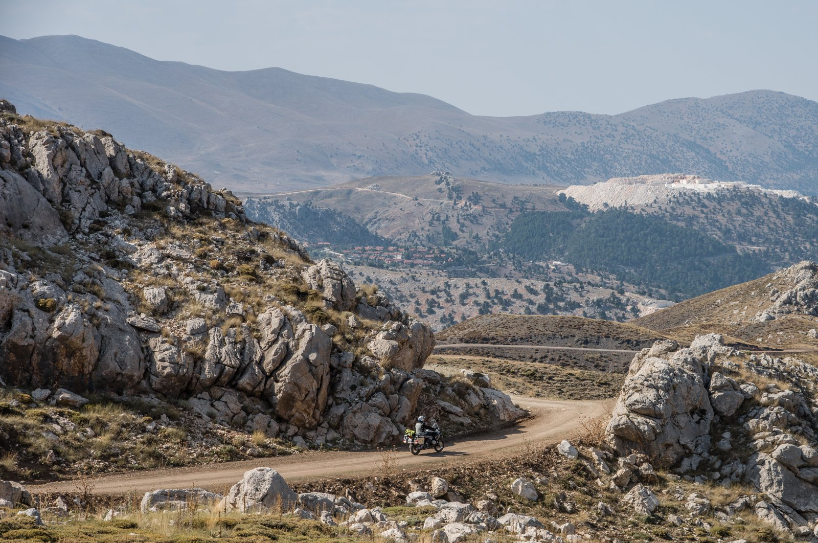 Turkey is a wonderful country abundant with unique motorcycle routes. (Shutterstock Photo)