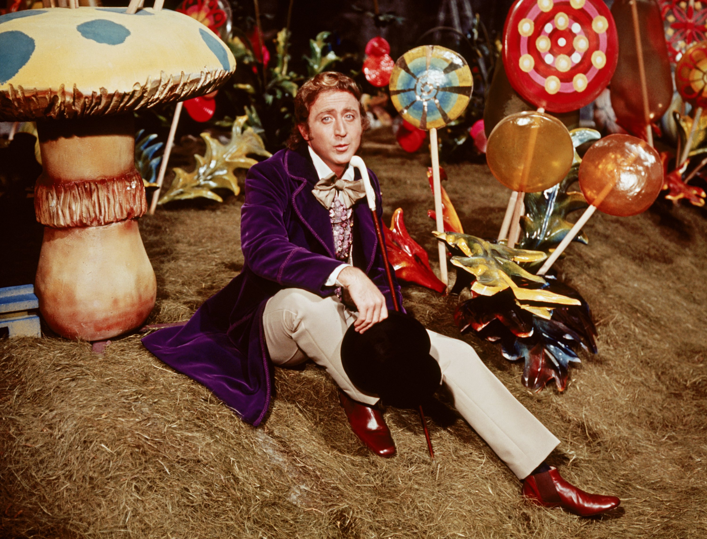 Actor Gene Wilder as Willy Wonka in the 1971 film 'Willy Wonka & the Chocolate Factory.' (Warner Bros. via Reuters)