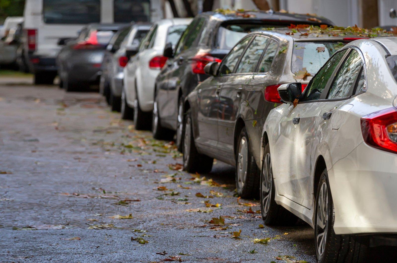 Cars parked along a street. (Shutterstock Photo)