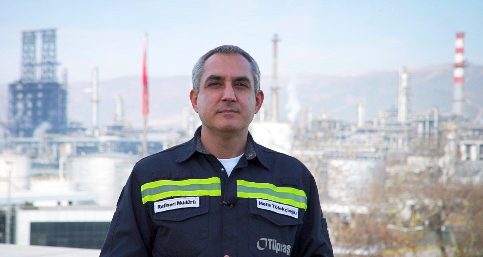 Tüpraş Izmit Refinery Manager Metin Tüfekçioğlu. (Courtesy of Tüpraş)