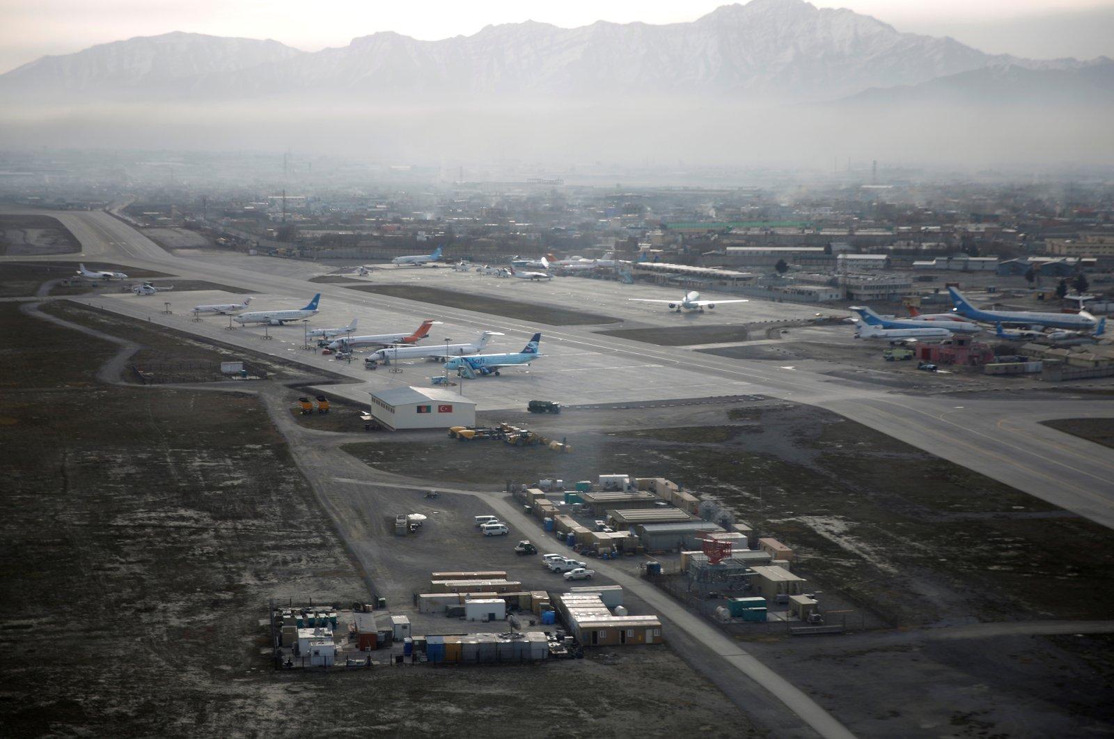Hamid Karzai International Airport in Kabul, previously known as Kabul International Airport, in Afghanistan, February 11, 2016. (Reuters Photo)