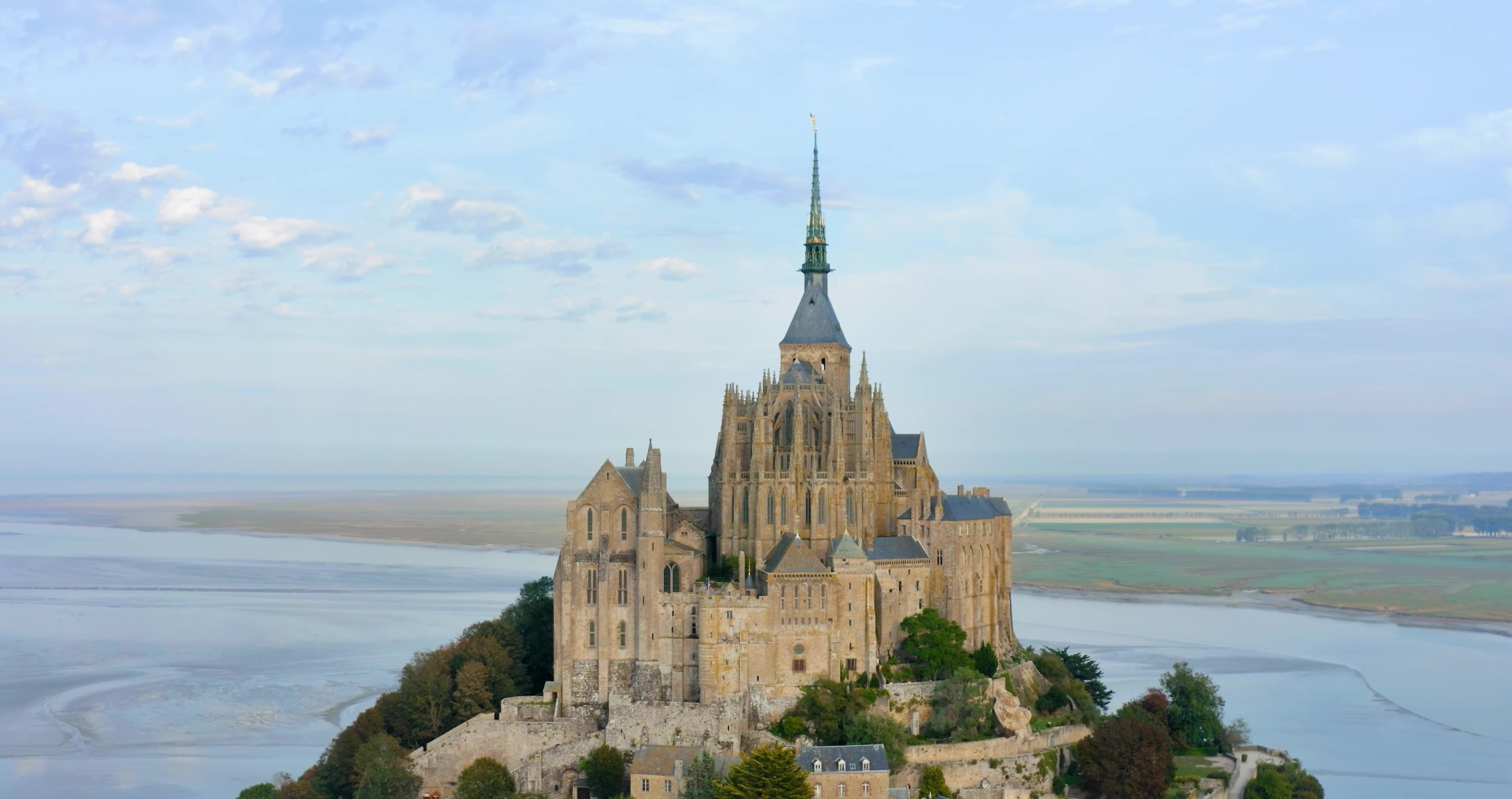 General view of the Mont-Saint-Michel. (Shutterstock Photo)