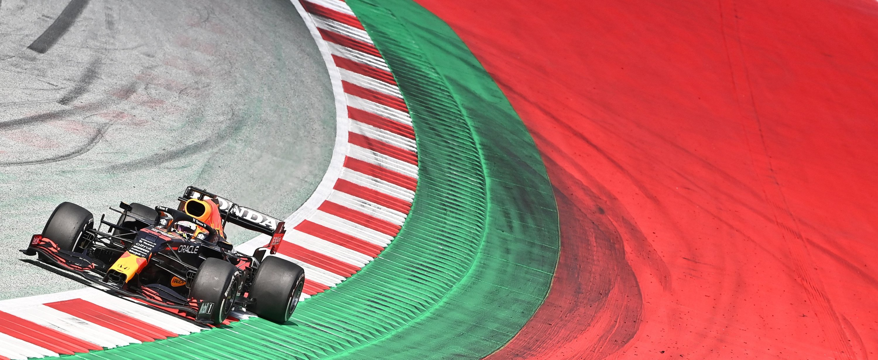 Red Bull's Dutch driver Max Verstappen competes during the Formula One Styrian Grand Prix at the Red Bull Ring race track, Spielberg, Austria, June 27, 2021. (AFP Photo)