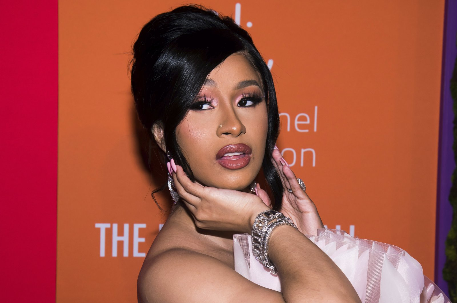 Cardi B attends the 5th annual Diamond Ball benefit gala at Cipriani Wall Street in New York, U.S., Sept. 12, 2019.  (AP Photo)