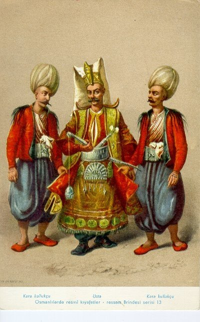 The military command of the Ottoman Empire, including janissaries, were chosen by the masters of face-body reading in the Ottoman Empire. (Wikipedia Photo