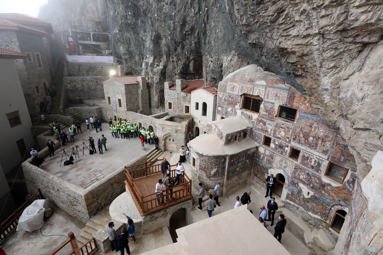 Sümela Monastery (AA Photo)