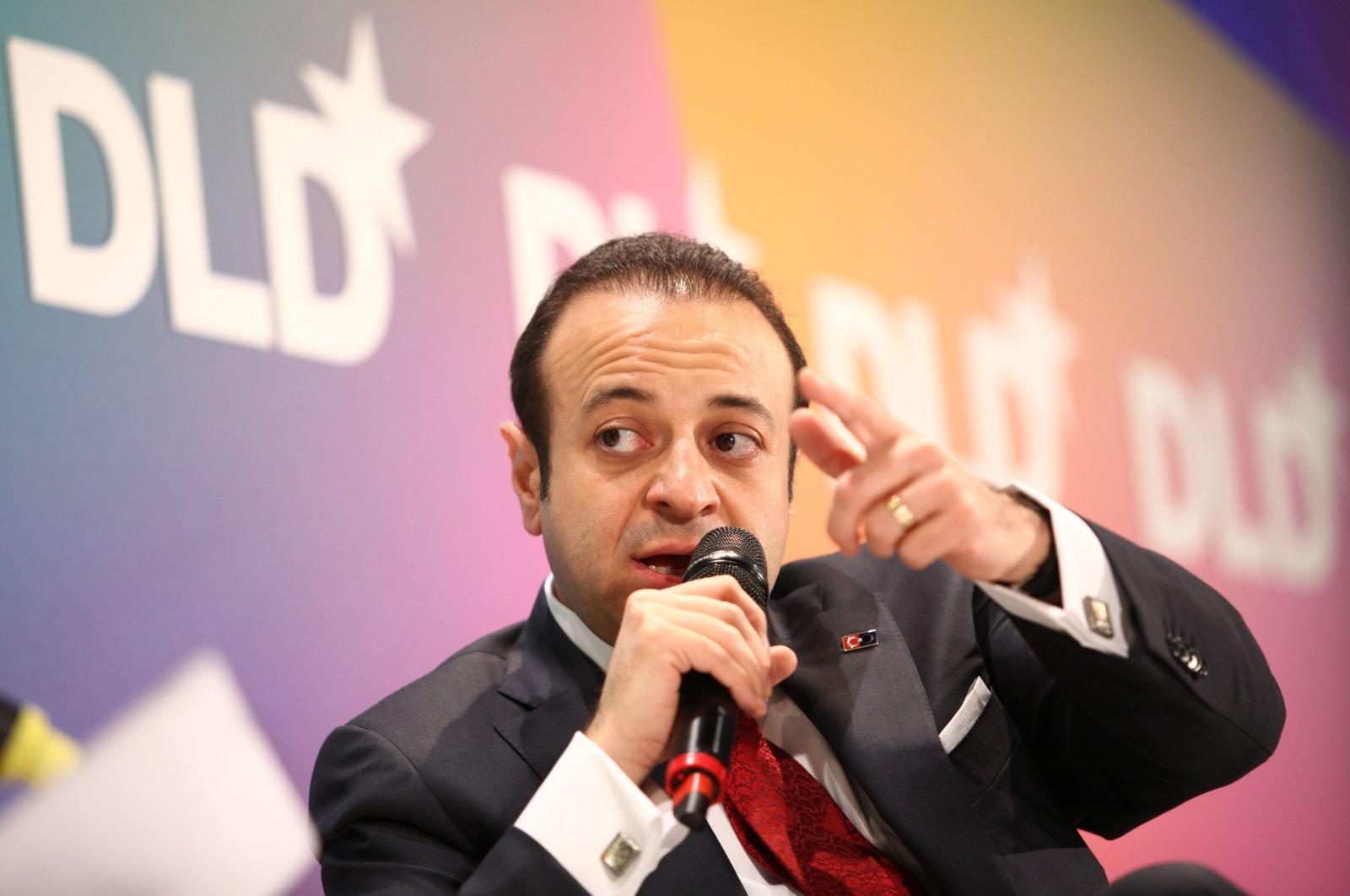 Turkish politician Egemen Bağış speaks during the Digital Life Design conference (DLD) at HVB Forum in Munich, Germany, Jan. 24, 2012. (Getty Images File Photo)