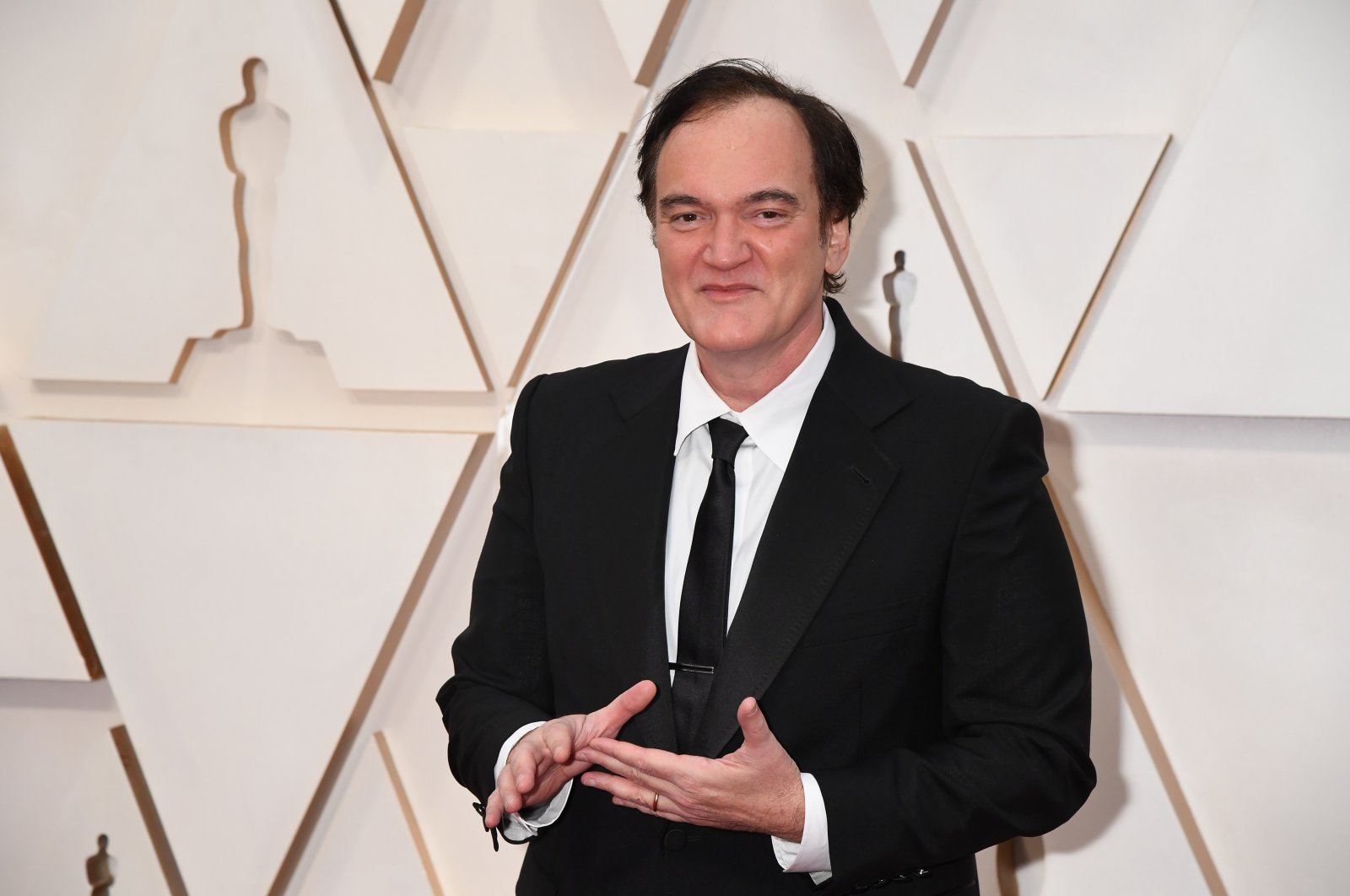 Writer-director Quentin Tarantino attends the 92nd Annual Academy Awards at Hollywood and Highland in Hollywood, California, U.S., Feb. 9, 2020. (Getty Images)