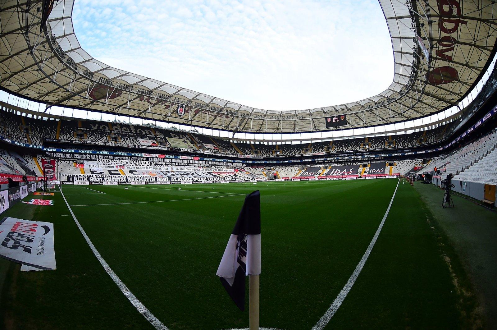 A general view of Vodafone Park, the home of Süper Lig champion Beşiktaş, Istanbul, Turkey, May 1, 2021. (Turgut Doğan/Sabah Photo)