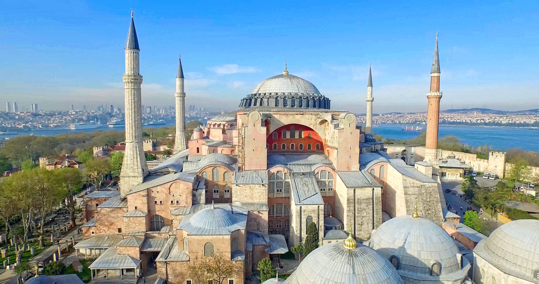Hagia Sophia Grand Mosque in Istanbul. (Shutterstock Photo)