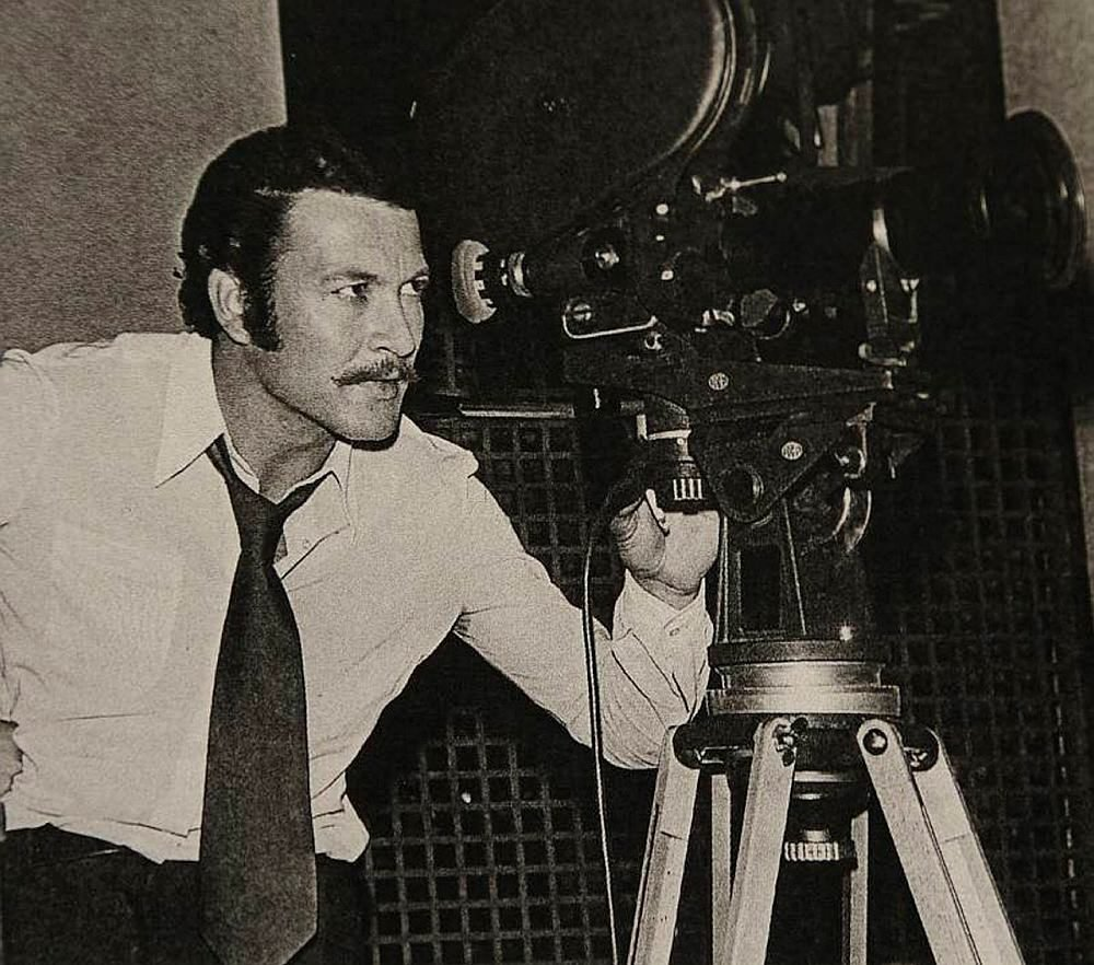Kartal Tibet is seen behind a camera. (Archive Photo)