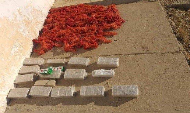 Explosives were seized during the operation in the capital Ankara, Turkey, July 1, 2021. (IHA Photo)