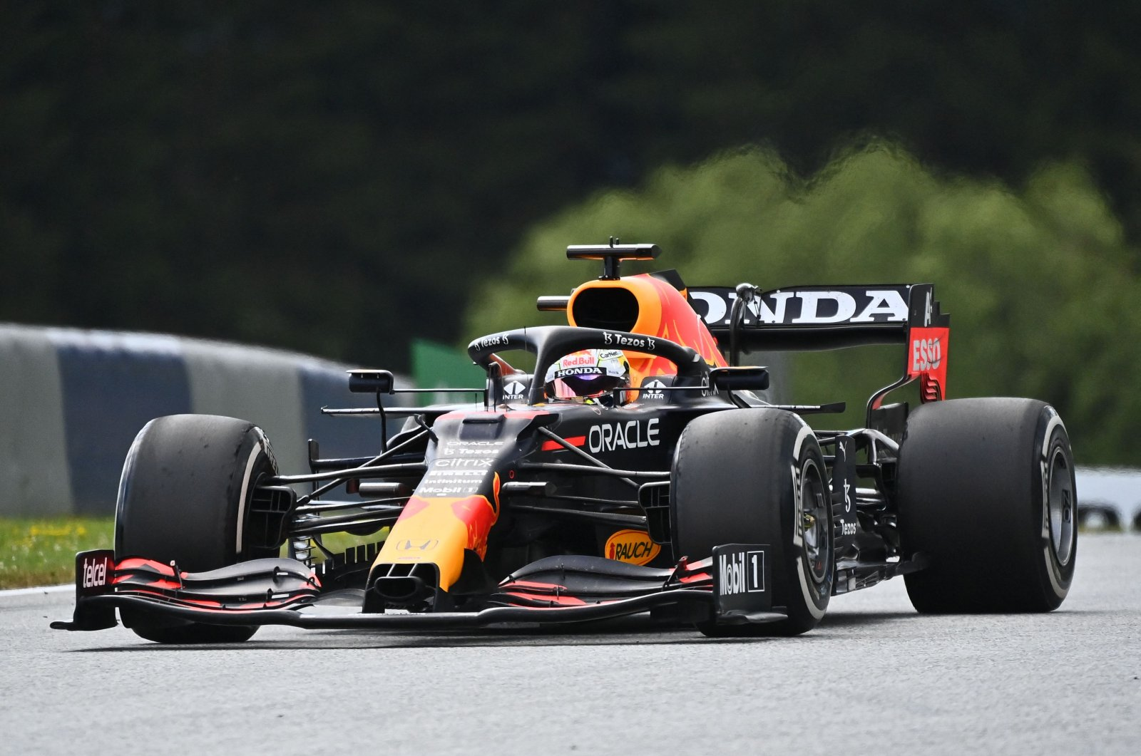 Red Bull's Dutch driver Max Verstappen competes during the F1 Styrian Grand Prix at the Red Bull Ring race track in Spielberg, Austria, June 27, 2021. (AFP Photo)