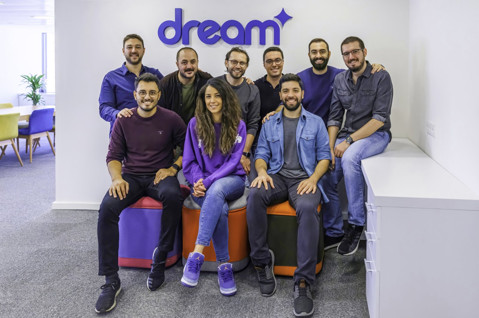 Members of Turkish mobile games startup Dream Games are seen in this undated file photo.