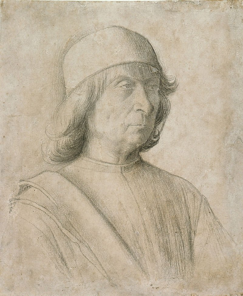 Gentile Bellini, Self-portrait, 1496.