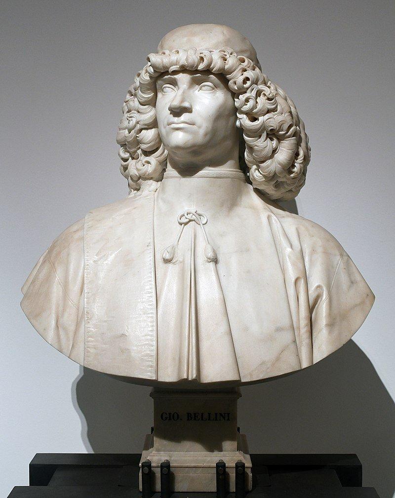 Bust of Giovanni Bellini in Venice. (Wikipedia Photo)