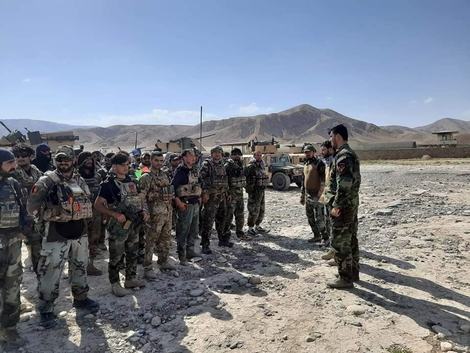 Afghan Commandos arrive to reinforce the security forces in Faizabad, the capital of Badakhshan province, after the Taliban recently captured several neighborhood districts, July 4, 2021. (Reuters Photo)