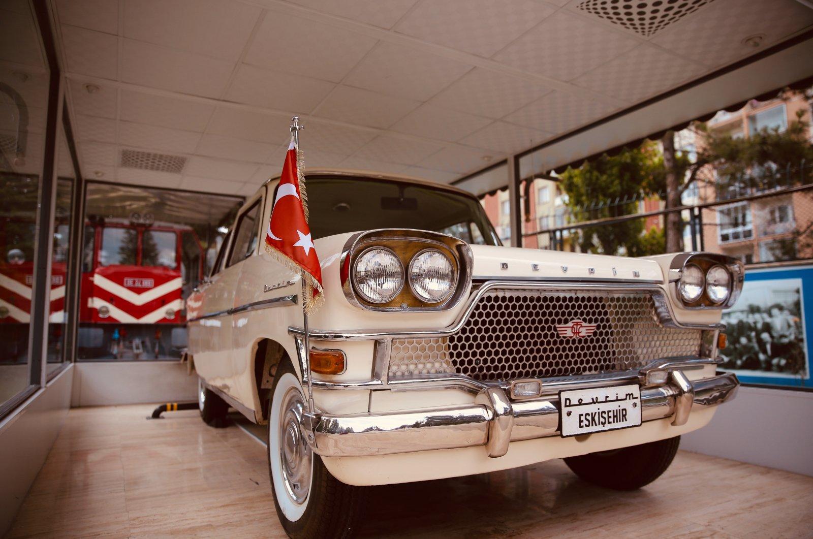 A view from Devrim, the Revolutionary Cars Museum, Eskişehir, central Turkey, July 4, 2021. (AA Photo)