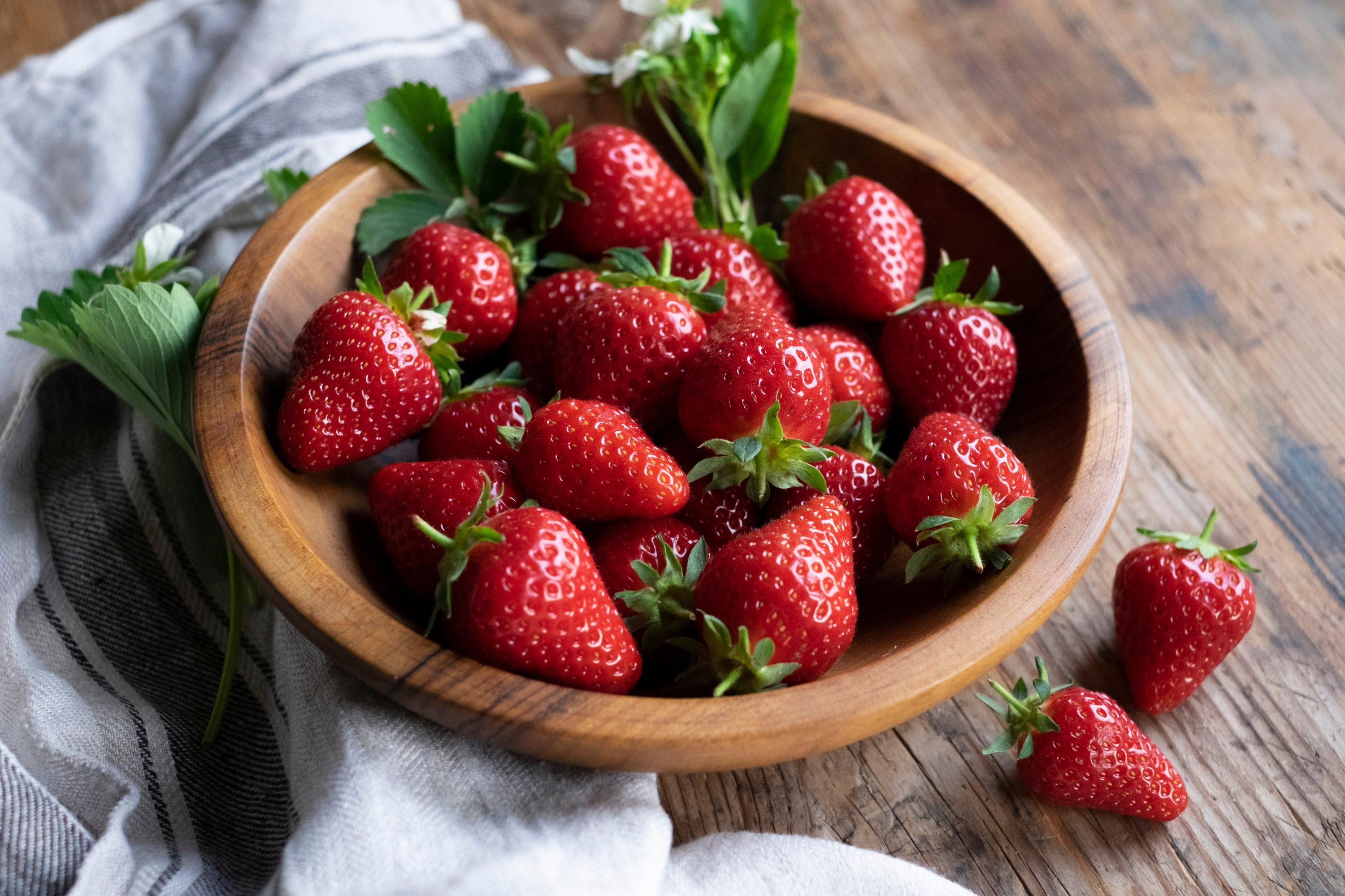 Fresh strawberries offer a wide variety of health benefits. (Shutterstock Photo)