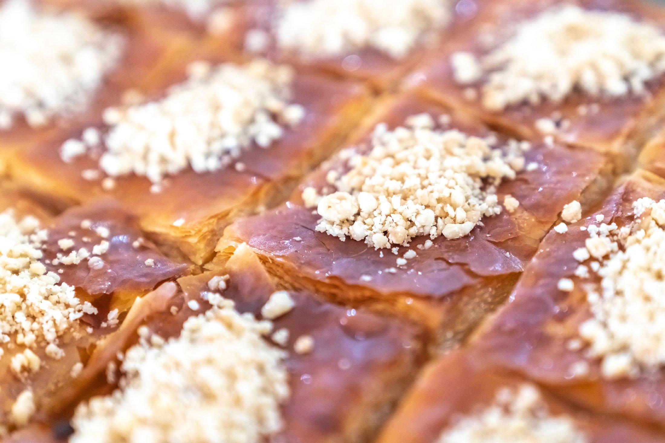 The Black Sea region dessert laz böreği. (Shutterstock Photo)