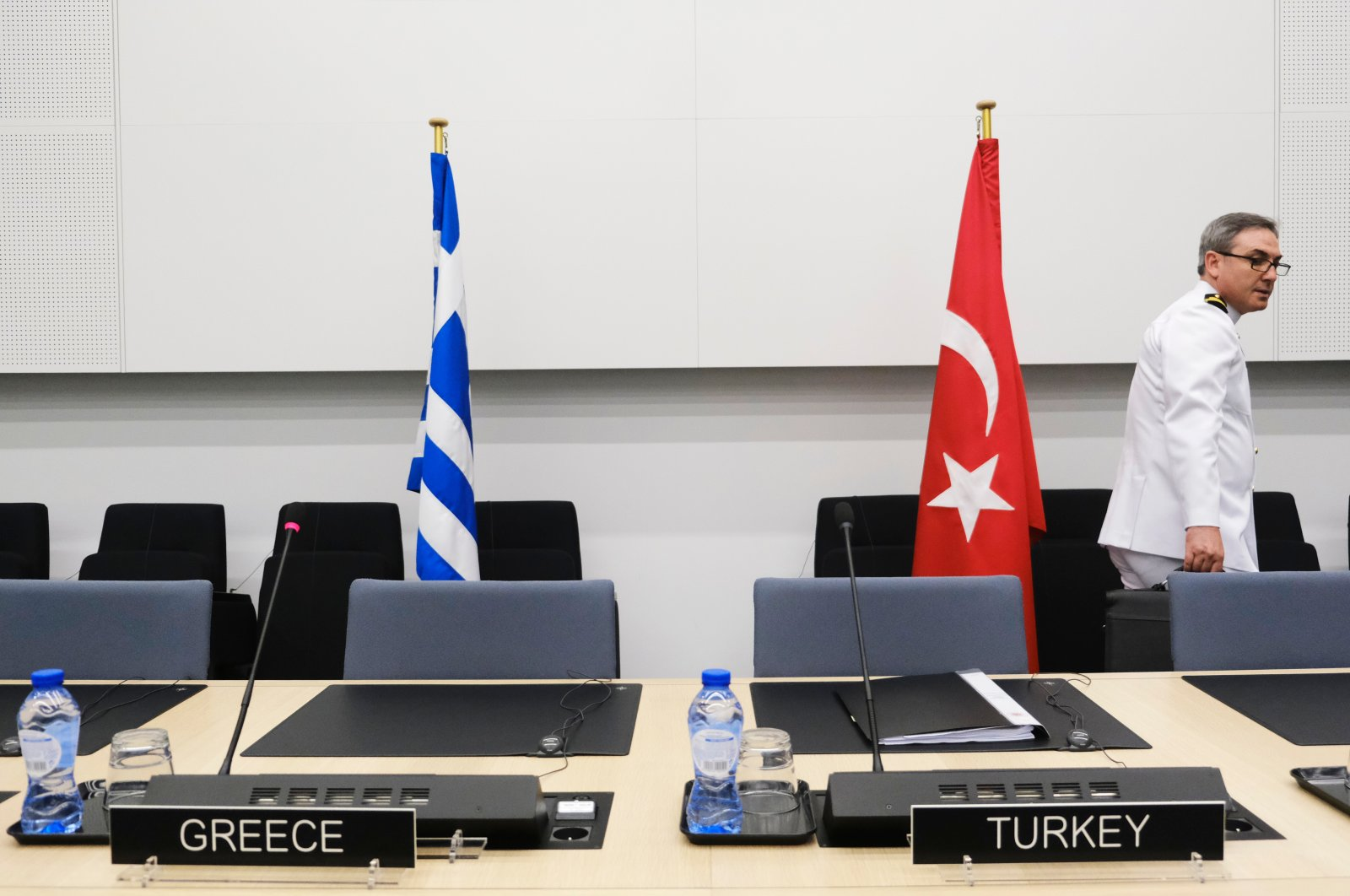 First day of NATO defense ministers meeting is held at NATO headquarters, in Brussels, Belgium, on June 26, 2019. (Shutterstock Photo)
