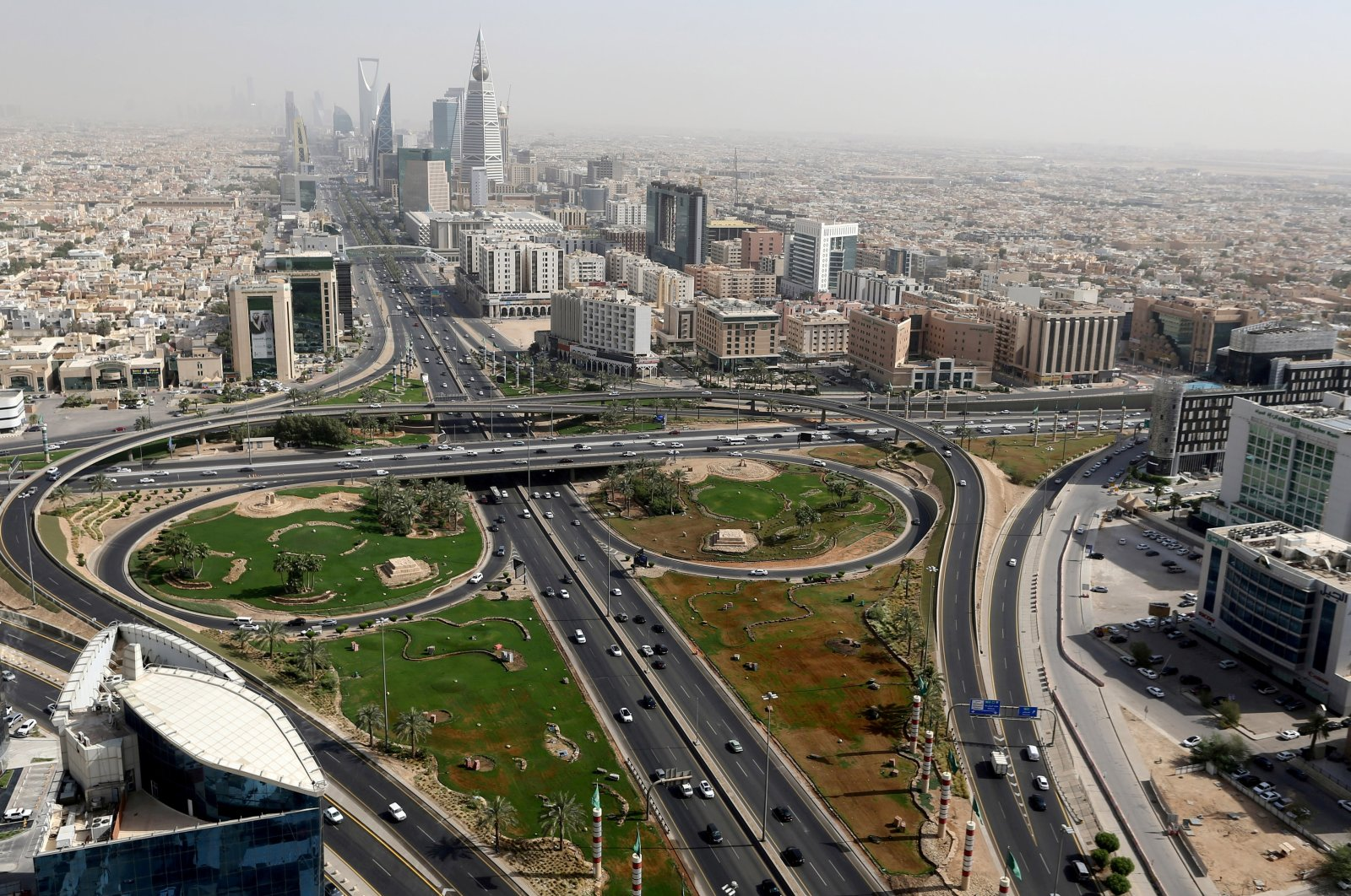 A general view of Riyadh, Saudi Arabia, June 21, 2020. (Reuters Photo)