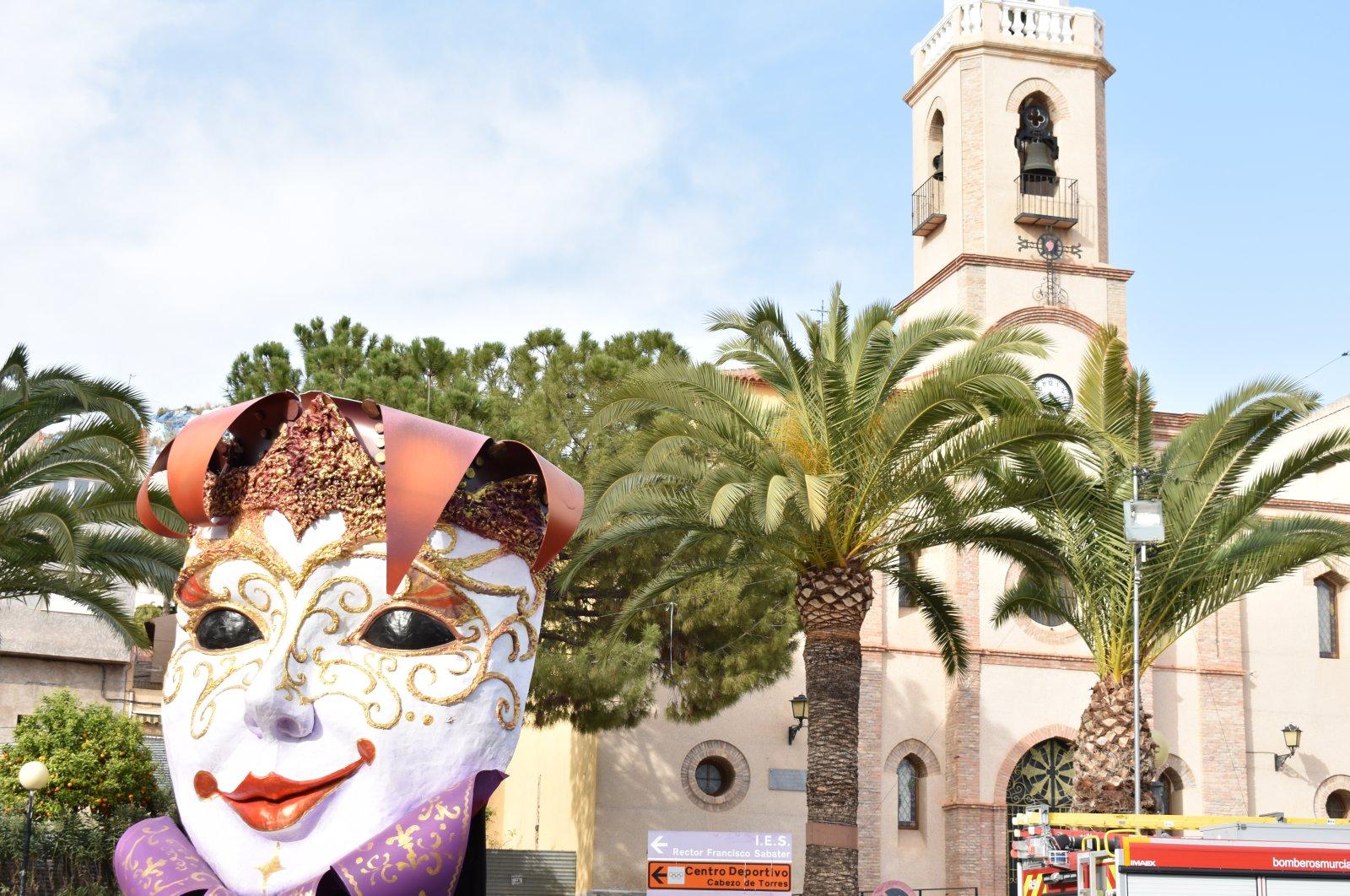 Popular carnival in Cabezo de Torres, Murcia, Spain, Feb. 29, 2020. (Shutterstock Photo)