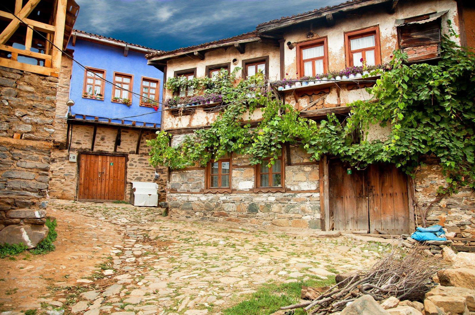 A view from the Cumalıkızık village, Bursa, northwestern Turkey, September 13, 2016. (Shutterstock Photo)