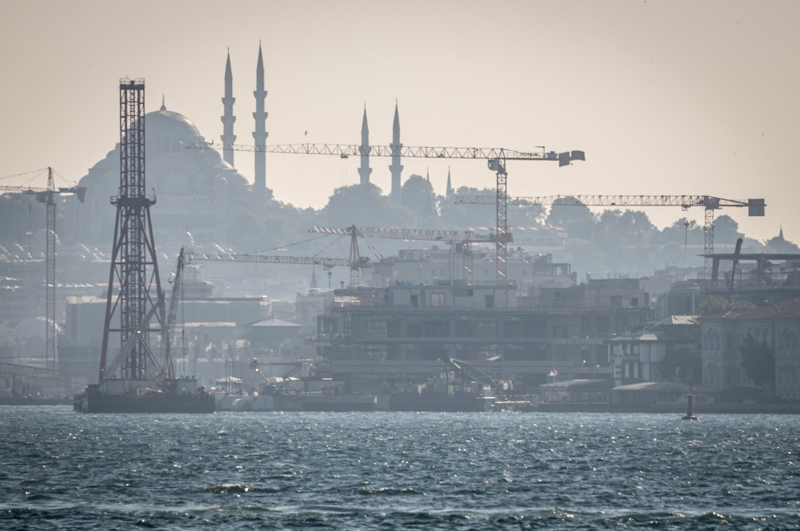 A view of Galataport in Karaköy district, Istanbul, Turkey, Aug. 23, 2020. (Getty Images)