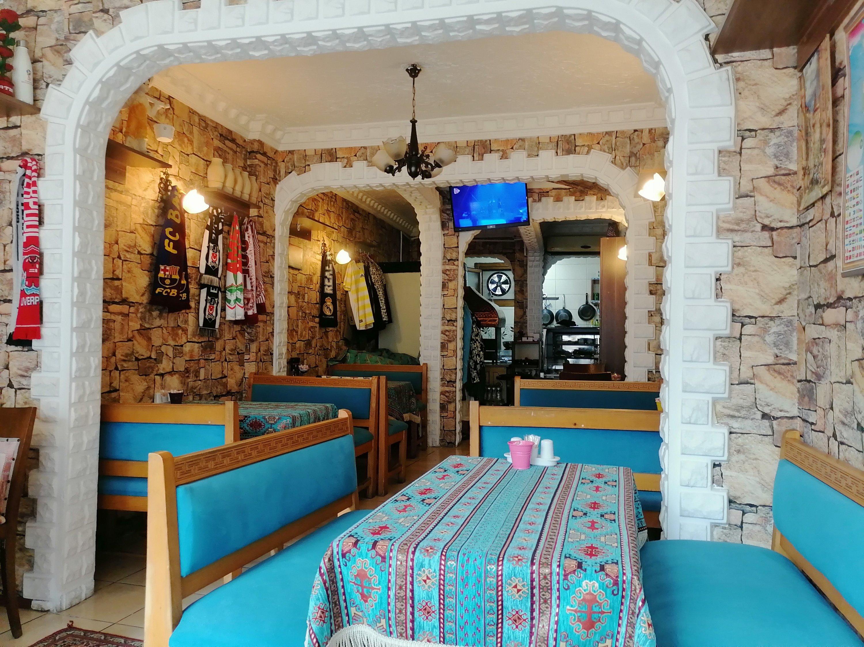 The interior of Istanbul Anatolian Cuisine. (Aiza Azam for Daily Sabah)