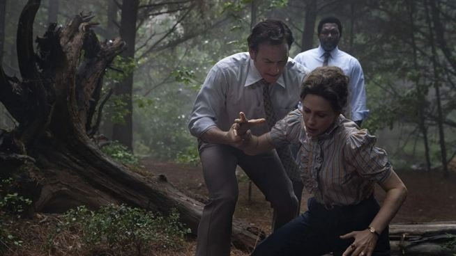 """A still shot from """"The Conjuring: The Devil Made Me Do It."""""""