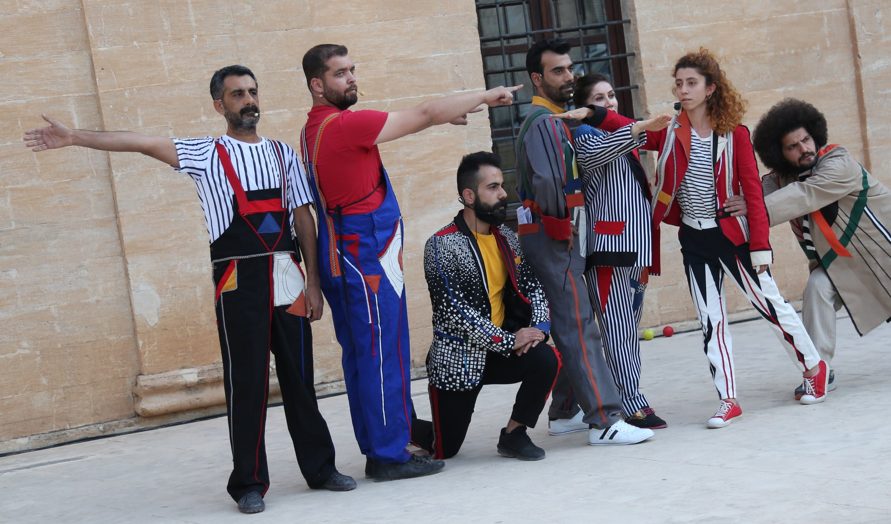 Actors from Mardin and Diyarbakır theaters will perform examples from Russian avant-garde plays. (Courtesy of Sakıp Sabancı Museum)