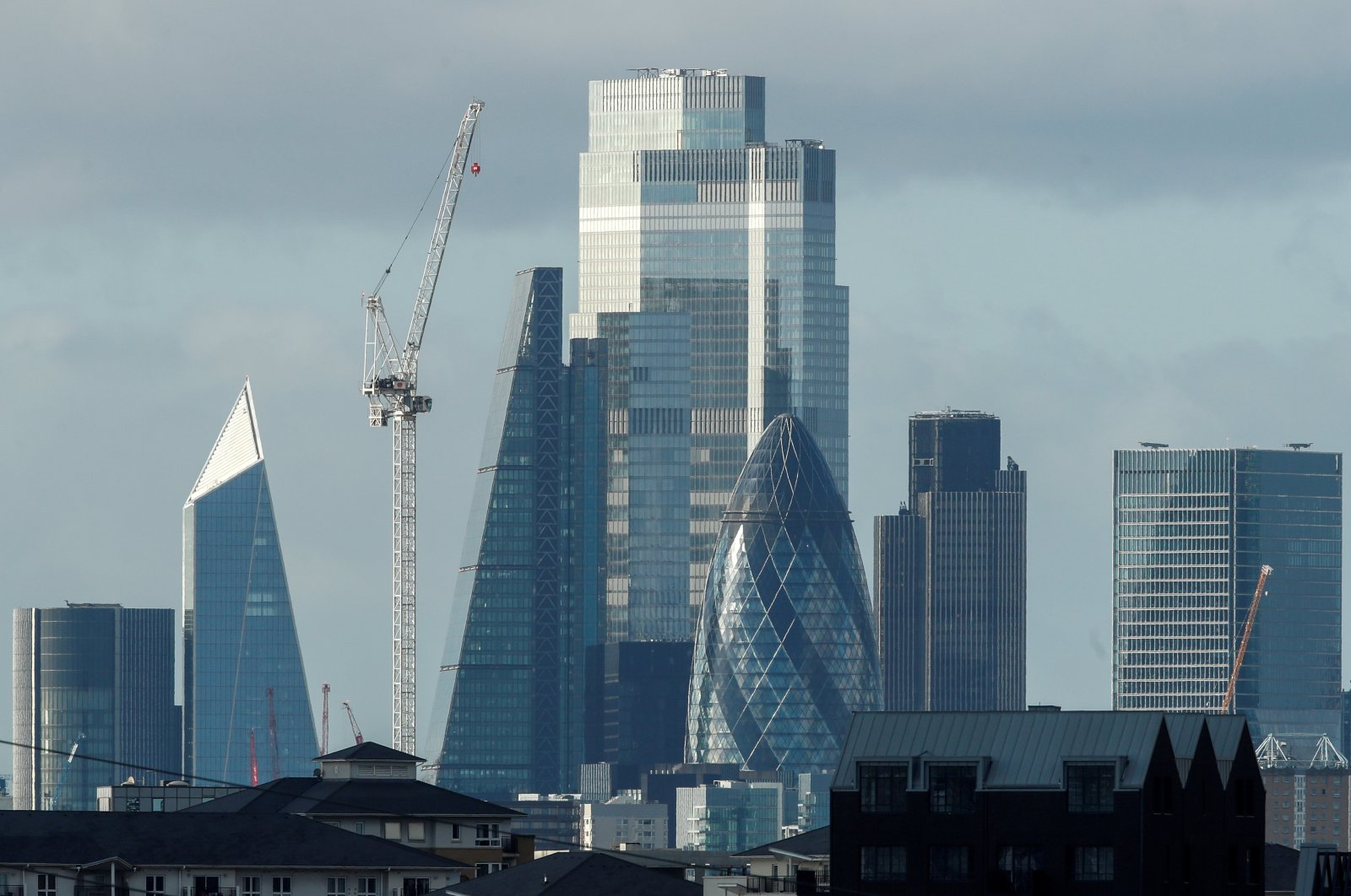 London's skyline amid the coronavirus disease outbreak, London, Britain, Nov. 2, 2020. (Reuters Photo)