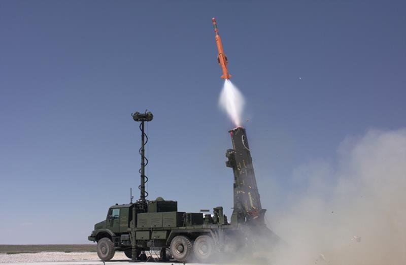 The autonomous Hisar A+ missile system seen in this undated file photo. (Courtesy of Aselsan)