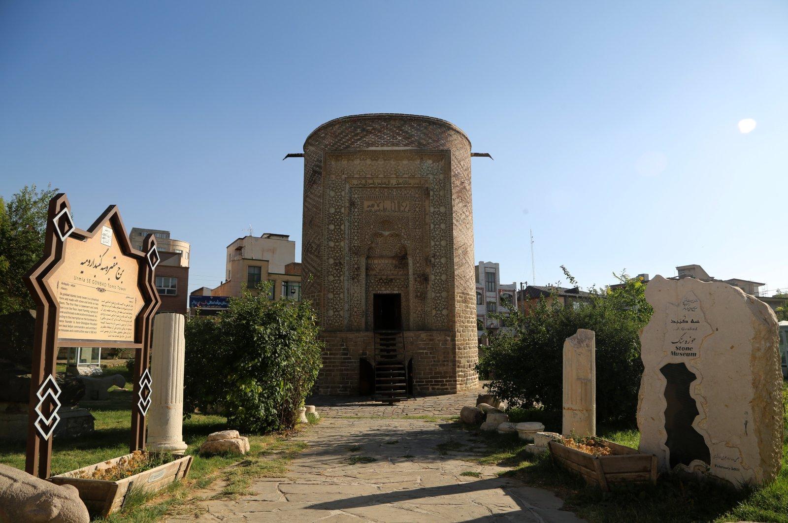 A general view from Segonbad, West Azerbaijan, Urmia, Iran, July 11, 2021. (AA Photo)