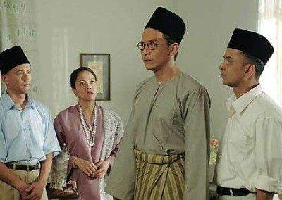 """A still shot from """"1957: Hati Malaya."""""""