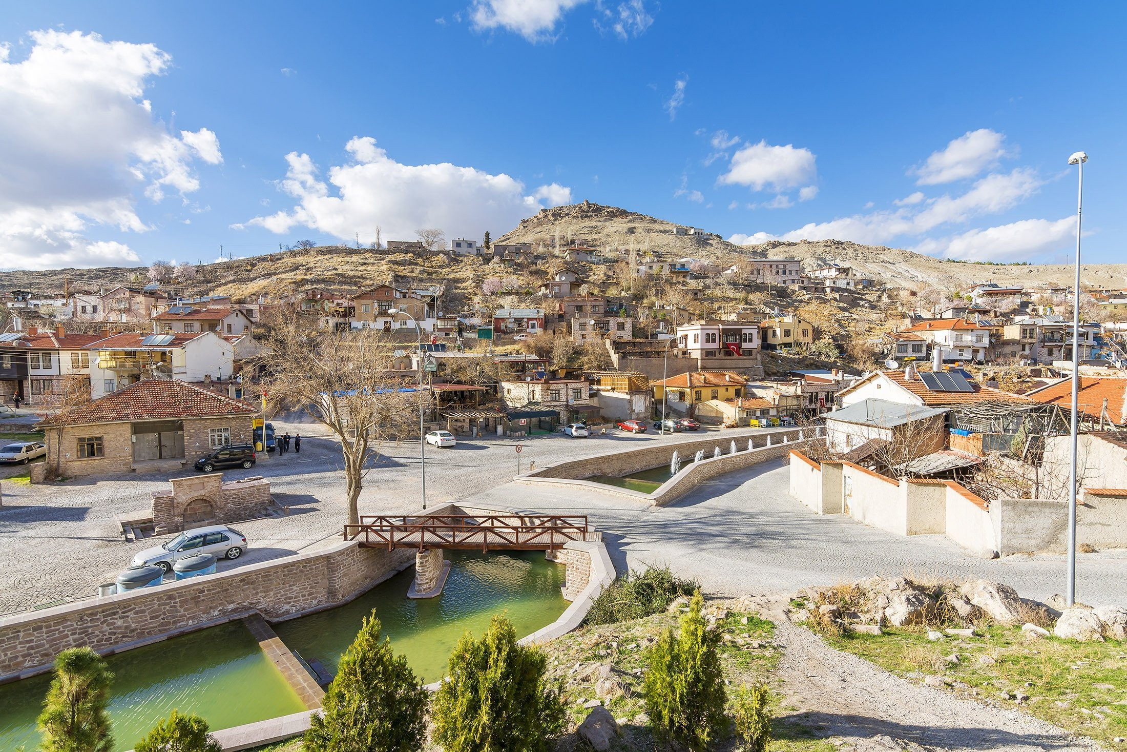 A view from the Sille Village, Konya, central Turkey, March 10, 2016. (Shutterstock Photo)