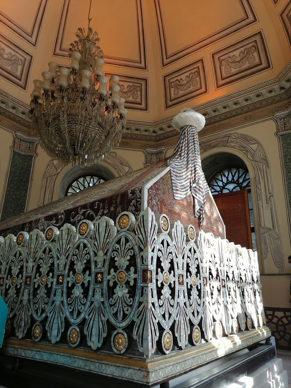 Tomb of Osman Ghazi. (Aiza Azam for Daily Sabah)
