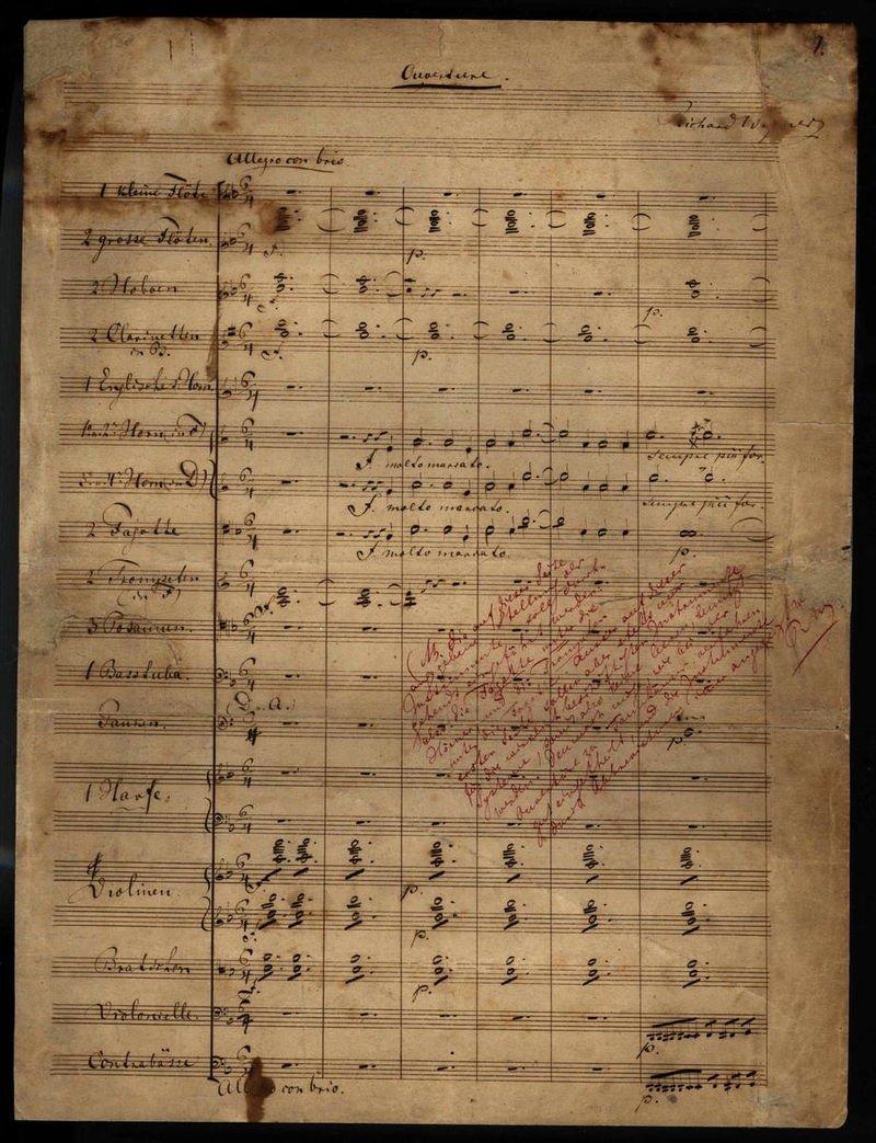'Der fliegende Hollander' ('The Flying Dutchman'): Overture.